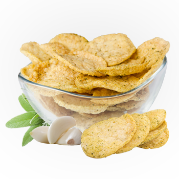 Garlic and Fine Herbs Crisps